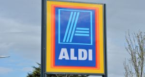 Aldi stores will also get a cosmetic makeover under Project Fresh. Photograph:  Alan Betson