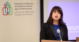 "Emily Logan: concerned  ""blanket anonymity rules"" on decisions made by the Workplace Relations Commission was closing down public debate around issues of discrimination. Photograph: Dara Mac Dónaill"
