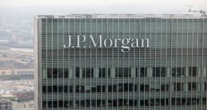 US bank JP Morgan is buying a landmark office building in Dublin to expand its Irish workforce. Photograph: Getty