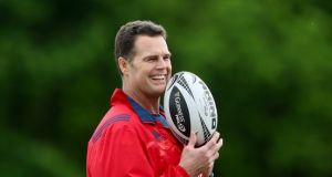 Rassie Erasmus is to leave Munster at the end of December. Photograph: James Crombie/Inpho
