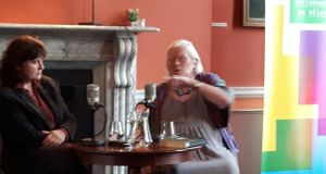 Jennifer Johnston talks to Eileen Battersby at the Irish Writers Centre in Dulbin this month