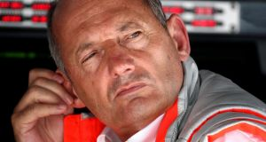 British motor-racing executive Ron Dennis has ended his 37-year association with McLaren