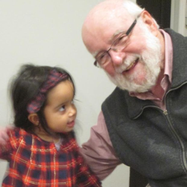 Seán O'Seasnáin: 'Our granddaughter Aanya is truly Canadian and a citizen of the world.'