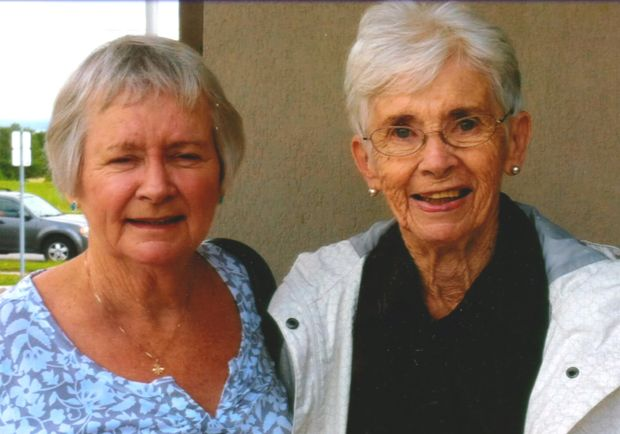 Claire and Betty Baldwin left Turners Cross, Co Cork for London, Ontario in 1955.