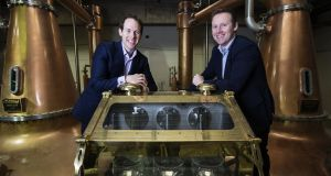 Brothers Stephen and Jack Teeling at the firm's distillery in The Liberties. Teeling Whiskey has sold a minority stake in the business to Barcardi