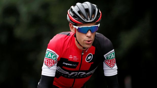 MC Racing rider Richie Porte: Australian has been in fine form this year, winning the Santos Tour Down Under and the Tour de Romandie. Photograph: Benoit Tessier/Reuters