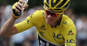 "Team Sky rider Chris Froome: ""My hunger to win hasn't got any less but the challenge is bigger this year because the level of my rivals is higher."" Photograph: Kenzo Tribouillard/Reuters"