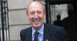 "Minister for Transport Shane Ross. ""The grandest panjandrum in contemporary Irish politics."" Photograph: Gareth Chaney/Collins"