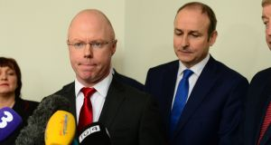 Is Stephen Donnelly in danger of becoming Fianna Fáil's version of George Lee? File photograph: Dara Mac Dónaill/The Irish Times