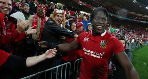 Maro Itoje produced another impressive performance as the Lions beat the All Blacks 24-21 in Wellington. Photograph: David Rogers/Getty