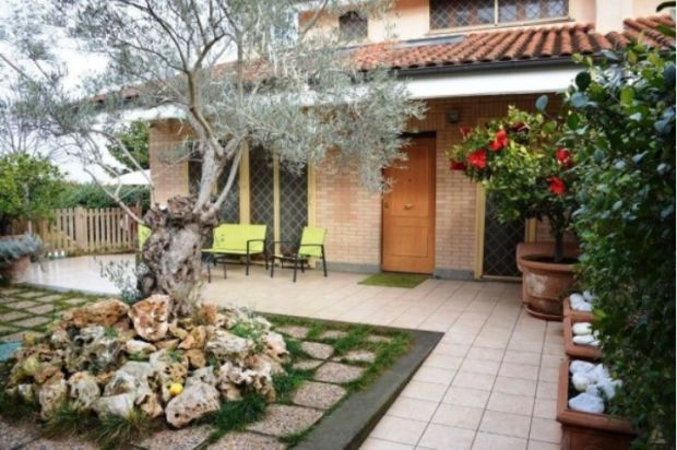Three-bed on the north side of Rome city, just inside the ring road at Porta di Roma.