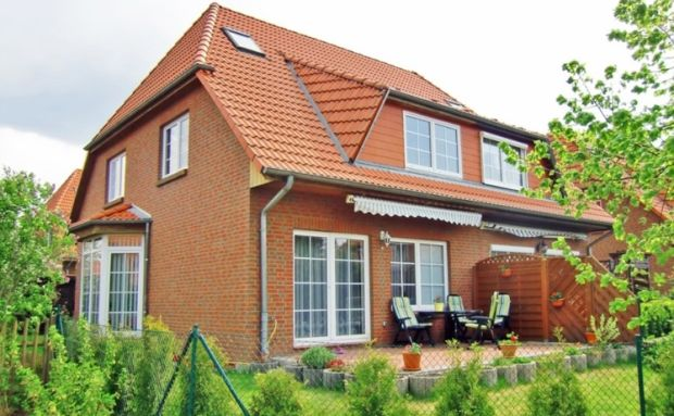 A three-bedroom semi-detached house in Potsdam.