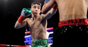 Michael Conlan recorded his third professional win in Brisbane on Saturday night. Photograph: Tom Hogan/Inpho