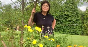 Orlaith Murphy in her Wicklow garden.
