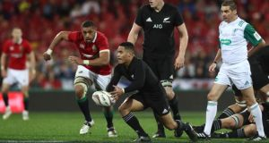 Aaron Smith is the source of the All Blacks attacking ploys. If he is dancing diagonally forward from ruck to ruck, taking two steps before torpedoing another hard runner into soaking red jerseys then the series is all but gone.