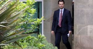 Northern Ireland secretary James Brokenshire is due to outline the British government's next move in the House of Commons in the afternoon. Photograph: Paul Faith/AFP/Getty Images