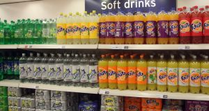 Young people from more affluent families were less likely to drink sugared soft drinks every day than those with lower affluence, but this was not consistent across all countries and regions. Photograph:   Lewis Whyld/PA Wire