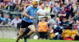 A 41st-minute Eamon Dillon goal helped Dublin on their way. Photograph: Tommy Dickson/Inpho