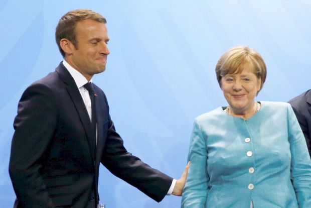 "A new Paris-Berlin deal could provide a ""template"" for the other states. Photo: Fabrizio Bensch/Reuters"