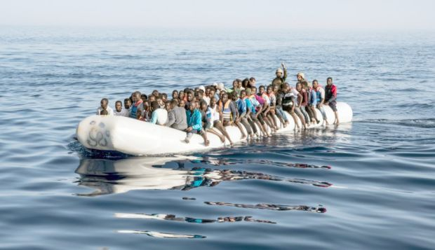 Nearly 1,900 people have died trying to cross the Mediterranean in 2017. Photo: Taha Jawashi/Getty