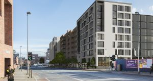 An artist's impression of the proposed development at Newmarket Square in Dublin's Liberties.