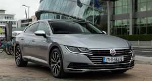 Volkswagen's flagship Arteon has arrived in the Republic with prices starting at €43,295. The spacious five-seater is not only a replacement for the coupe variant of the last Passat, the CC, but is also meant to signal a further upmarket shift by the German brand.