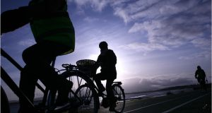 Cyclist groups have questioned the official figures on cycling injuries. Photographer: Dara Mac Dónaill