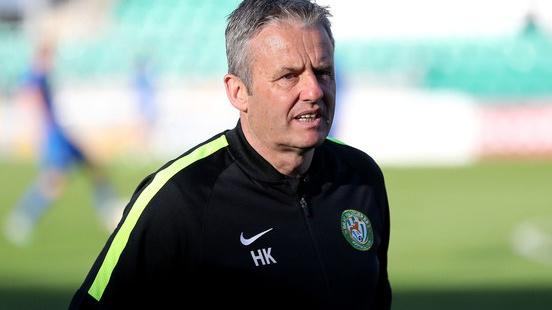 Bray Wanderers manager Harry Kenny. Photograph: Bryan Keane/Inpho