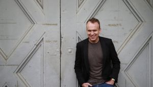 Author Tim Haig: his new book 'How To Stop Time' has already been optioned for the big screen by Benedict Cumberbatch's production company, Sunnymarch. Photograph: Nick Bradshaw