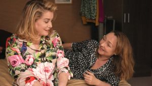 Catherine Deneuve and Catherine Frot in The Midwife