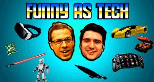 Funny as Tech podcast  offers dystopian/utopian visions of our technological future