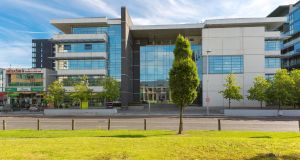 Apex Business Centre in Sandyford – the ground-floor unit is for sale in excess €850,000.