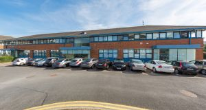 Sandyford Business Centre – the refurbished unit on Burton Hall Road is for sale for €2.5 million.