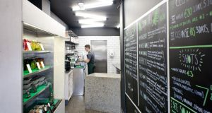 Green Beards in Ranelagh: The benefits of cold-pressed are written in chalk on the walls of this café meets juicery