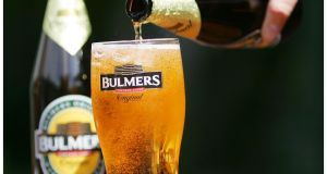 Bulmers maker C&C finished the session 1.1 per cent down, ahead of Thursday's trading update and annual general meeting.
