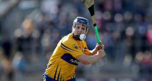 "Clare player Podge Collins: ""Cork are the form side, will be favourites. They gave us a nice trimming in the league down in Páirc Uí Rinn."" Photograph: Ryan Byrne/Inpho"