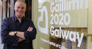 Chris Baldwin, performance director, curator and writer, who has been appointed creative director for Galway City of Culture 2020. Photograph: Galway City of Culture 2020