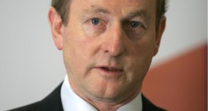 The €378,000 lump sum and €326,000 a year that former taoiseach Enda Kenny is receiving is worth  €5.17 million in private-sector terms, new figures show. Photograph: Dara Mac Dónaill