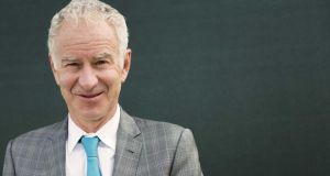 John McEnroe:   He does valuable work for the Wimbledon tournament each year by saying something 'controversial'. Photograph: Jonathan Ford