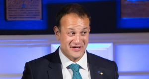 "Taoiseach Leo Varadkar: said it was ""always the pilot's decision and not the passenger's as to whether they should fly or not"". Photograph: Julien Behal/PA Wire"
