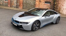 Our Test Drive: the BMW i8, the hybrid sports car