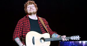 Ed Sheeran  quits Twitter because of the abuse he's been getting on the platform. Photograph: Yui Mok/PA Wire