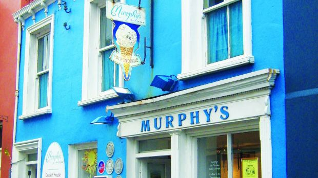 Try a scoop of sea salt ice-cream from Murphy's on Strand Street.