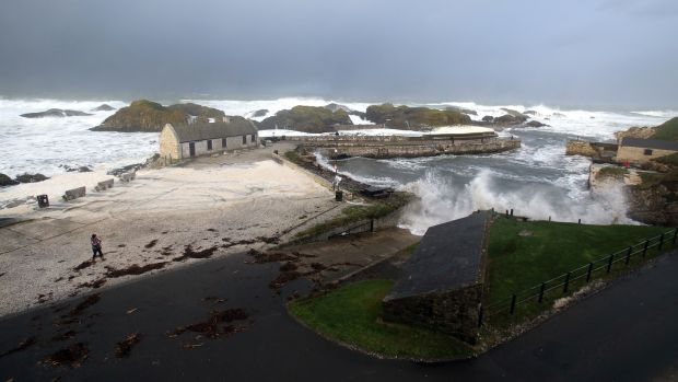 Ballintoy Bay is Lordsport Harbour in season two. Photograph: Paul Faith/AFP/Getty Images