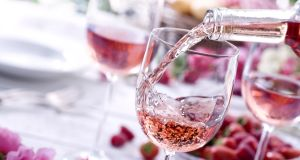 Rosé wine: a taste of summer in a glass. Photograph: E+/Getty Images