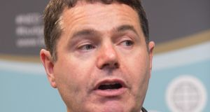 Minister for Finance Paschal Donohoe will next week deliver the Government's summer economic statement, likely to contain an update on the fiscal space for next year.  Photograph: Gareth Chaney Collins