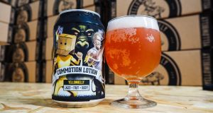 YellowBelly brewery have teamed up with electro band King Kong Company to make a collaboration lager with 'Bucky'
