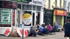 Queues began to form in Galway by Thursday night ahead of  tickets going on sale on Saturday at 9am.    Photograph: Paul Gallimh