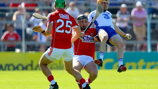 Colm Spillane was impressive against Waterford until a disappointing red card. Photo: Oisin Keniry/Inpho