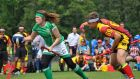 Team Ireland during last year's Quidditch World Cup in Germany.